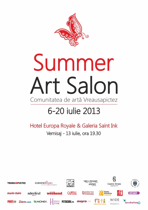 Afis Summer Art Salon Bucuresti